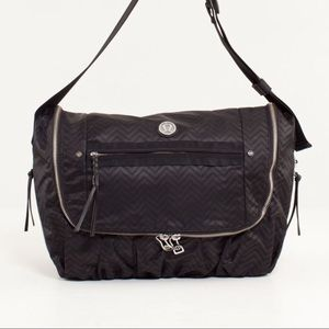 Rare Lululemon Yoga Moto Messenger Bag Squiggles